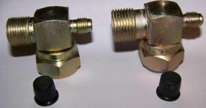FORD SANDEN MD MB CB YORK T210L (Suction and Discharge) A/C COMPRESSOR FITTINGS