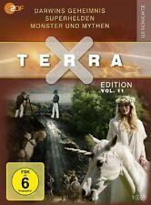 Terra X - Edition Vol. 11: Darwins Geheimnis / Superhelden ... 3 DVDs NEU OVP
