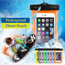 Universal Waterproof Phone Case Anti-Water Pouch Dry Bag Cover f. iPhone Samsung