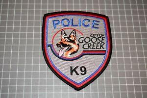 City Of Goose Creek South Carolina Police K-9 Patch (S03-1)