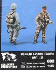 VERLINDEN 1:35 GERMAN ASSAULT TROOPS TROOPS OFFENSIVE GERMANY IIWW 2 FIGURES 603