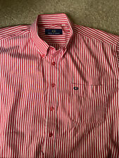 MENS GENUINE FRED PERRY SHIRT SIZE LARGE Short  Sleeved