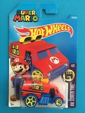 NEW 2016 Hot Wheels Nintendo SUPER MARIO BROS Cool-One - Mint on long card!