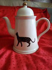 Teiera ARTHUR WOOD con gatti/cat/chat. Made in England Est 1884