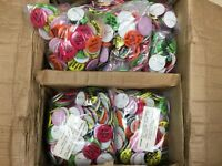 Humorous Jokes Buttons Bulk Lot of 6000 Vintage MUST HAVE BEST DEAL AROUND