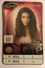 VANESSA EXPRESS LACE FRONT WIG TOP BOSA COLOUR 1