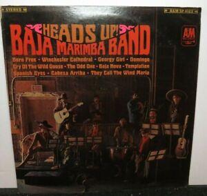 BAJA MARIMBA BAND HEADS UP (VG+) SP-4123 LP VINYL RECORD