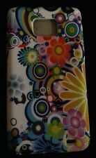 Galaxy s2 / i9100 mobile phone cover gel white floral. Price reduction now.