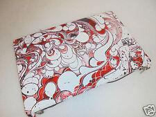 NEW Dell Studio 1555/1557/1558 Red Swirl Back Cover KV3R5 W855P Y528N- X937N