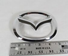 04-09 MAZDA 3 SEDAN TRUNK EMBLEM BACK DECK LID OEM CHROME M BADGE sign symbol
