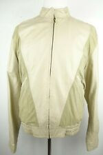 Bally Leather Jacket Bomber Men Size 42 Made in Italy