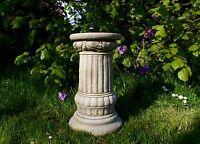 BEAUTIFUL FANCY COLUMN Decor Stand Garden Patio Stone Bespoke Ornament Statue