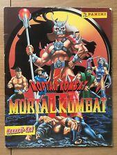 VERY RARE!!! PANINI Mortal Kombat 2 Partially Completed Sticker Album