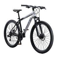 """27.5"""" Mens Schwinn Aluminum Comp Mountain Bike, 21 speeds, grey"""