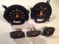 81-87 Chevy GMC truck Suburban instrument gauges -used- 5 pcs