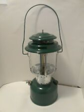 Coleman- LANTERN  Two- Mantle Floodlight Green  220F195-  In Box and papers