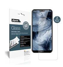 2x Nokia X6 2018 TA1099 Screen Protector matte Flexible Glass 9H dipos