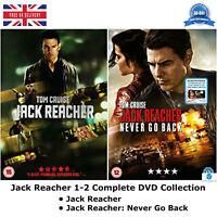 Jack Reacher 1-2 Complete Collection Jack Reacher,Jack Reacher Never Go Back DVD