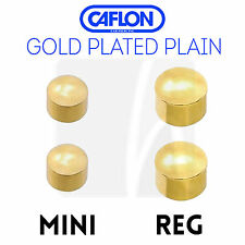 Ear Studs Packs of 12 Pairs Caflon All Sizes Types Colurs Stocked Mini Gold Plated Diamante Birthstone April