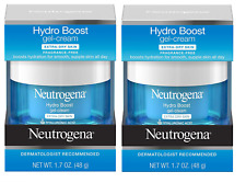 Neutrogena Hydro Boost Gel Cream, Dry Skin, Fragrance Free, 1.7 oz (2 Pack)
