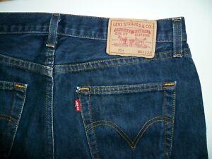 """LEVI""""S 751 Jeans Gr  W 33 L 32  Blau"""