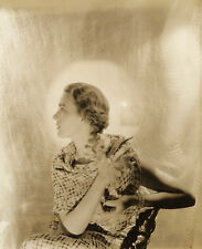 Cecil Beaton 1935 8x10 B&W Studio Fashion Photograph, Stamped