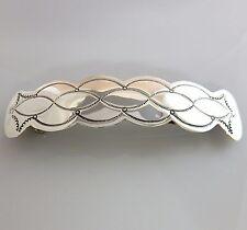 Native American Navajo Sterling Silver Handmade Barrette