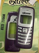 Nokia 2100 Front & Rear Housings/Covers Violet incl. Screen Display Glass,Keypad
