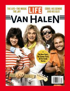 Van Halen Special Collectors Edition BOOK Life Magazine 2021 eddie