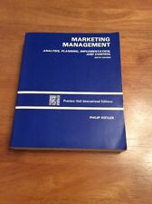 Marketing Management (Kotler, 1988) 6th Edition
