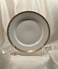 """Tressemanes & Vogt Limoges TRV321 Luncheon Plates 8 ½"""" (5)"""