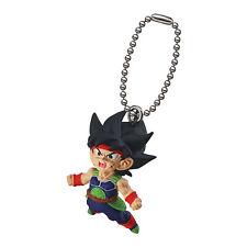 Dragon Ball Z DBZ Saiyan BARDOCK GOKU Figure Keychain Ring Gashapon Capsule