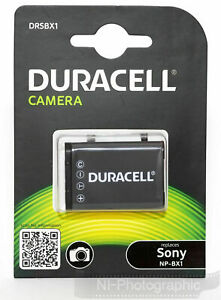 Duracell DRSBX1 (Sony NP-BX1) Rechargeable Battery New UK Stock NI Supplier