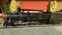 Mantua,Bowser ?  échelle ho locomotive Pennsylvania 2.10.0
