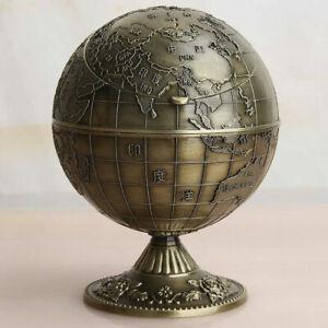 Chinese Handmade Metal Globe Zinc Alloy ashtray