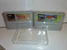 11 x snes super nintendo game cart cartridge protector .4 thick