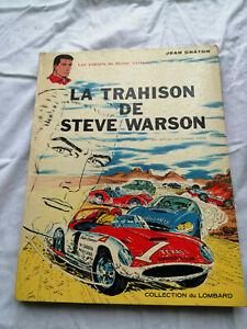 Michel Vaillant La trahison de Steve Warson 1ère EO 1964 (DL mars 1964) Bon à TB