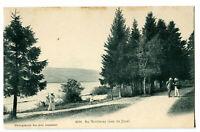 CPA Suisse Lémanique Au Rocheray Lac de Joux animé