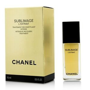Chanel Sublimage L'Extrait Intensive Recovery Treatment 15ml Mens Other