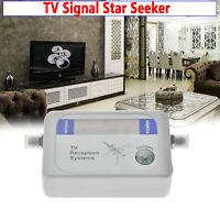 DVB-T Finder digital antena terrestre TV señal medidor de fuerza Cw