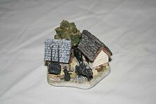 Lancashire Donkey Shed Collectible by David Winter
