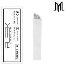 FLEXIBLE Microblading Needles - SPMU Permanent Makeup Manual Eyebrow Blade - CF