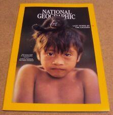 National Geographic Magazine October 2018 Isolate Tribe Falcon US Diversity