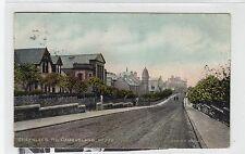 GREENLEES ROAD, CAMBUSLANG: Lanarkshire postcard (C28415)