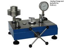 Hydraulic Dead Weight Tester, Range 700 Bar, Accuracy 0.05% rdg, Dual Piston