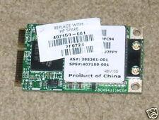 NEW HP Broadcom 802.11g MiniPCI Express Card 407159-001