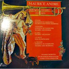 MAURICE ANDRE/OTVOS baroque trumpet concerti LP 1973++