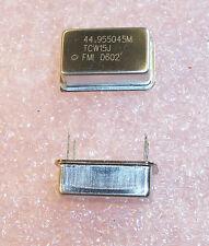 QTY (5) 44.955045 MHz TCXO OSCILLATOR 5V TCW15J-44.955045 FREQUENCY MGMT 45MHz<