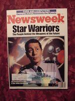 NEWSWEEK June 17 1985 Star Wars Weapons Reebok General Motors H. Ross Perot