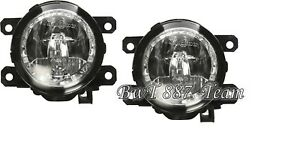 FOR FORD MUSTANG 2015-2018 NEW FRONT BUMPER FOGLIGHT LAMP  PAIR SET LH=RH